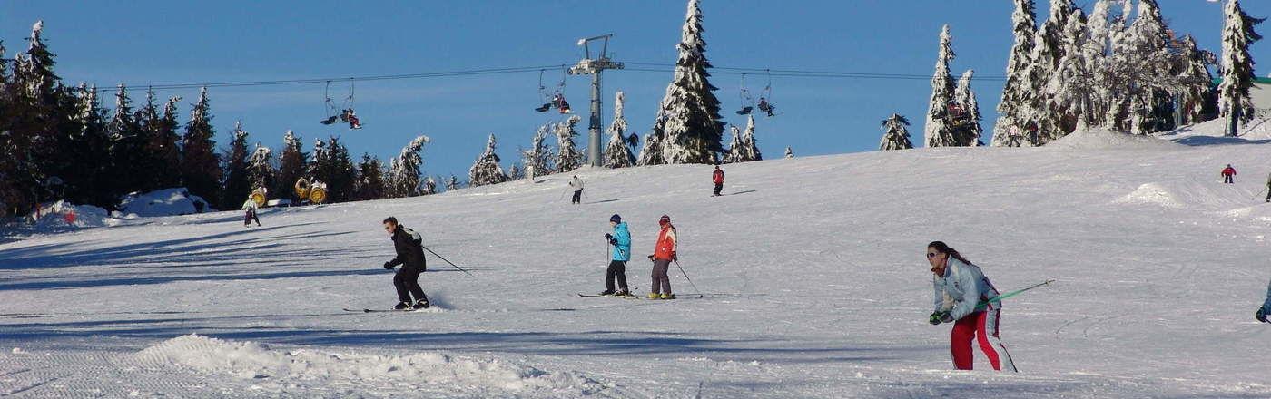 Bodenmais Skifahren Grosser Arber Skigebiete Bayerischer Wald