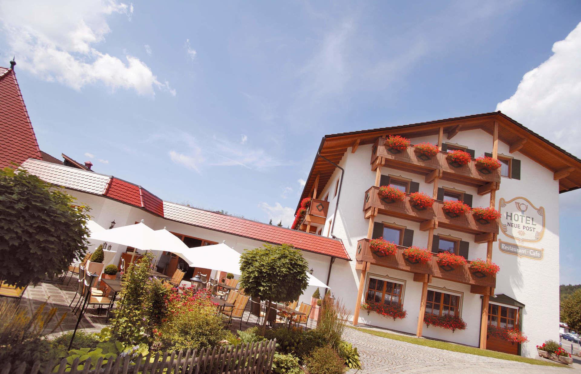Hotel Neue Post Bodenmais Silvester